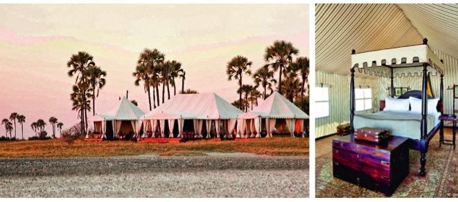 San Camp Botswana