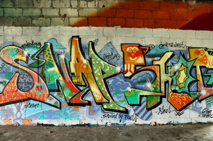 Snapshot Grafitti Teufelsberg