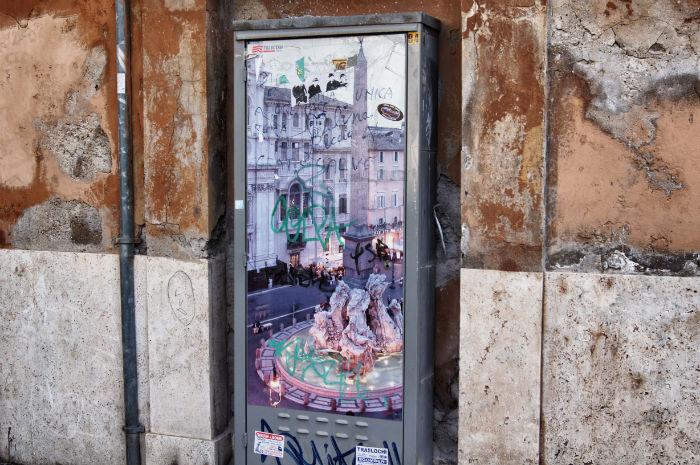 Streetart in Rom
