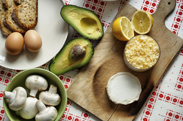 Zutaten-Avocadobrot-mit Ei