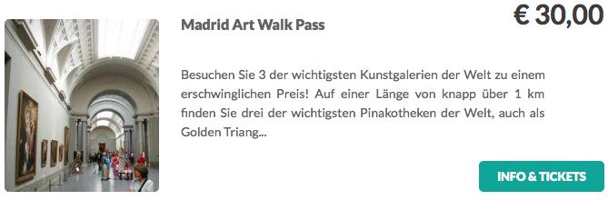Madrid Art Walk