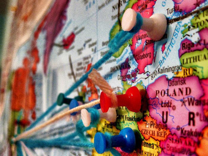 Weltreise machen