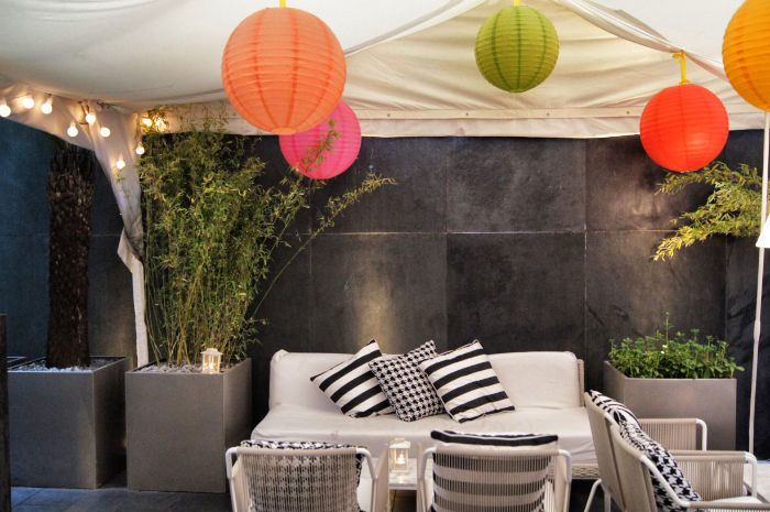 Ballons im South Place Hotel London
