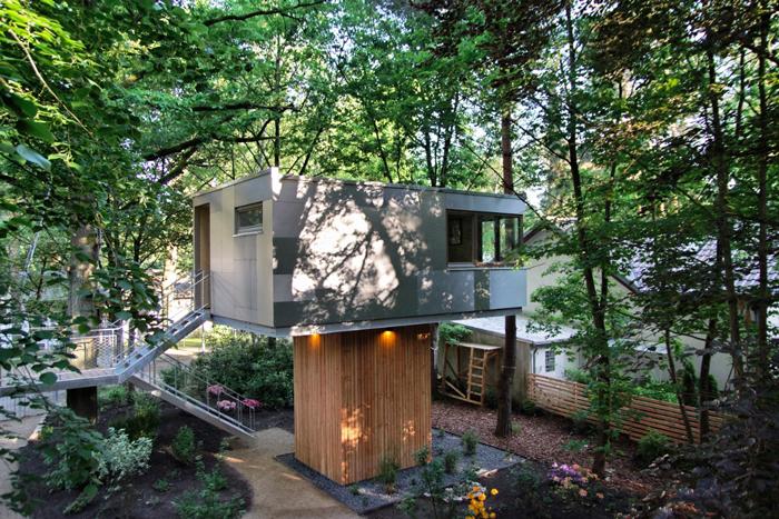 Baumhaus-Urban Treehouse-Berlin