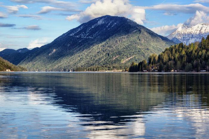Berge am Weissenseer See