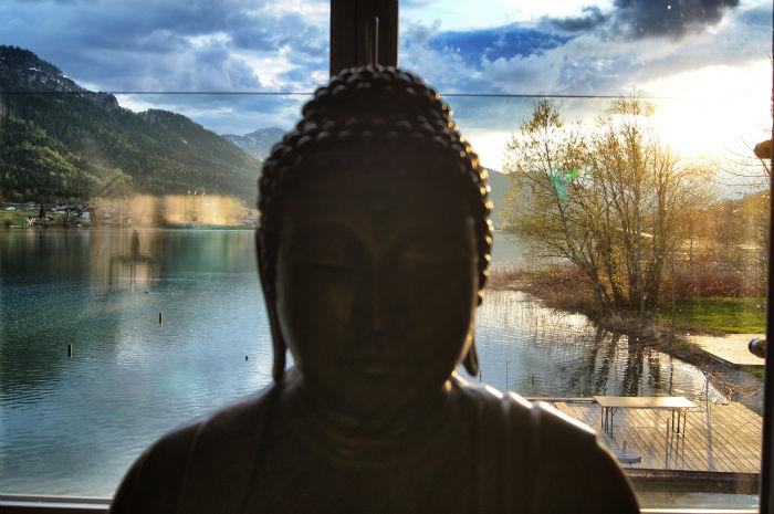 Buddha nach draußen