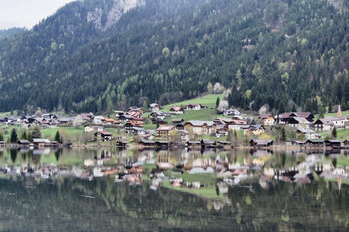 Dorf Panorama
