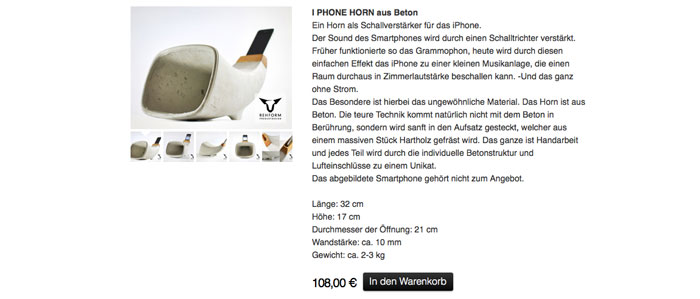 Horn-fürs-iPhone