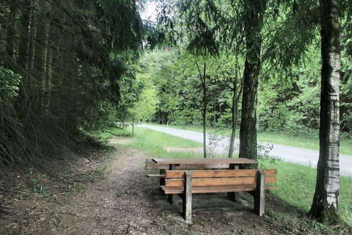 Parkbank_Bayerischer Wald