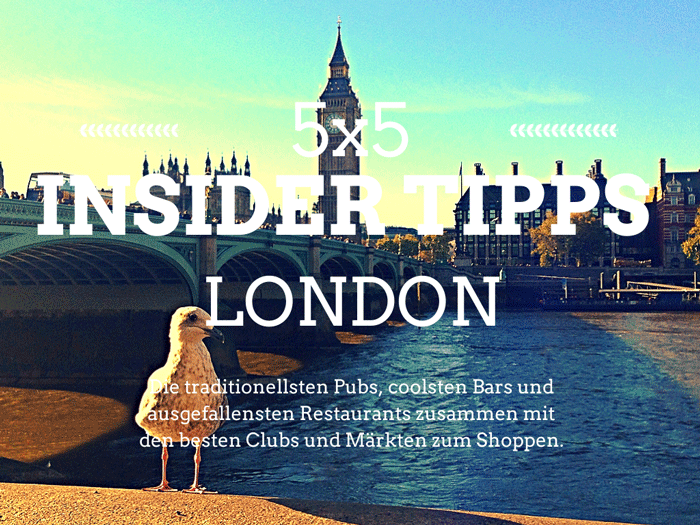 Insider-Tipps-London