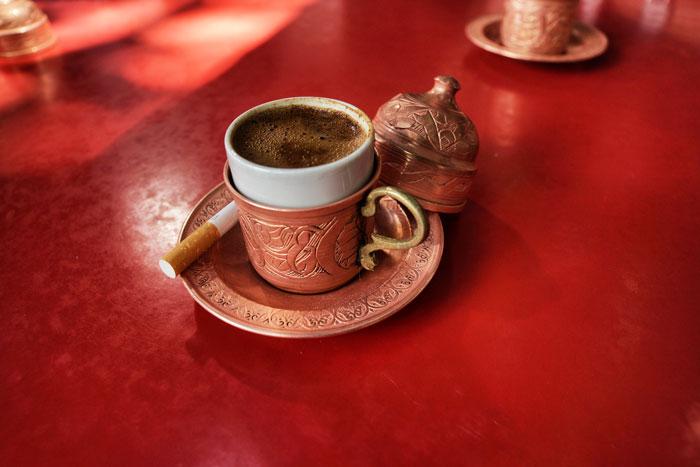 Istanbul-Kaffeetürkisch