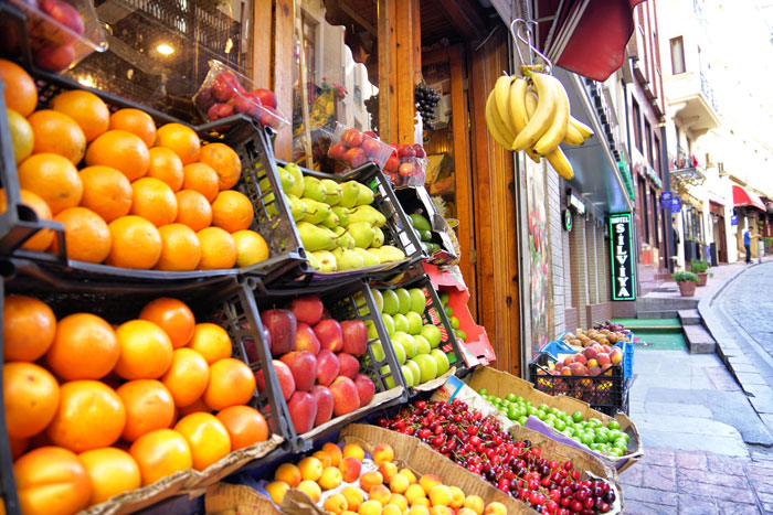 Istanbul-Obst