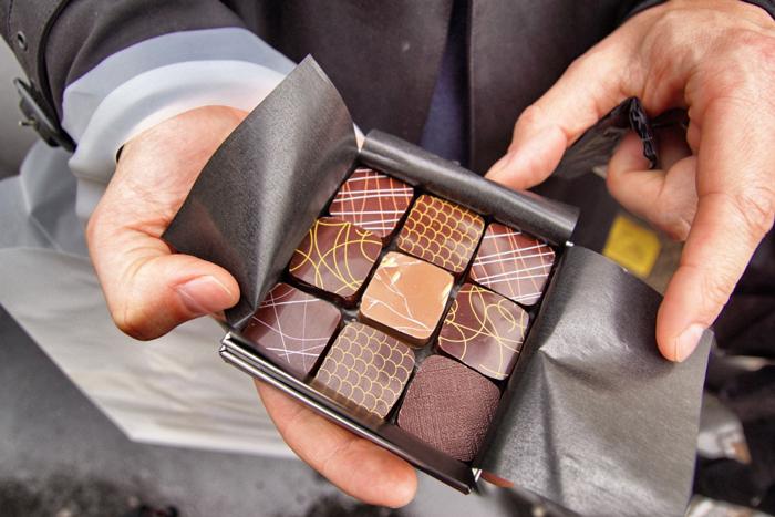 Schokolade-Paris