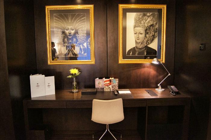 Schreibtisch South Place Hotel London