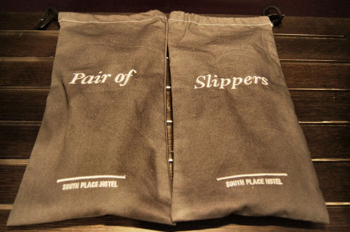 Slippers im South Place Hotel London