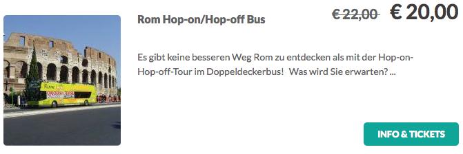 Rom Hop on:Hop off Tour