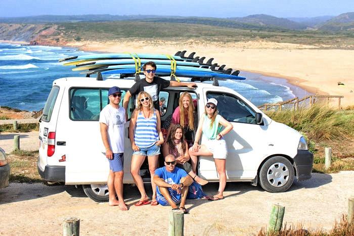 Bordeira-surfing