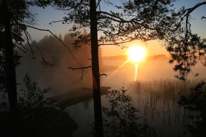 Mitsommer in Finnland