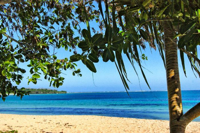 Paradies Insel