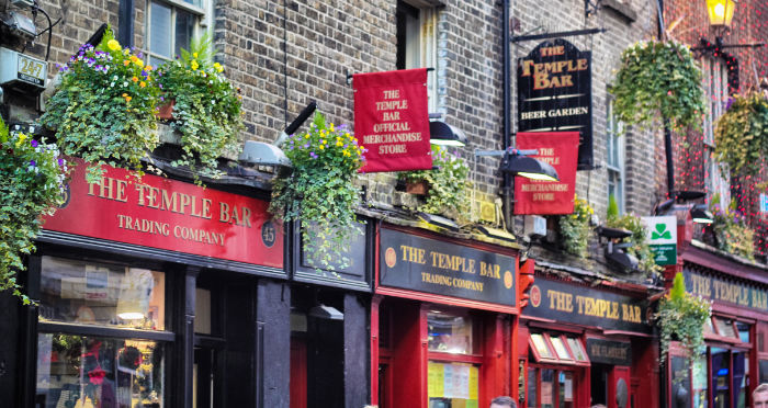 Temple Bar Viertel Dublin