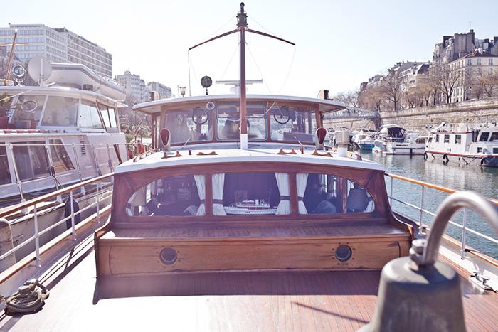 Boot-im-Sonnenschein