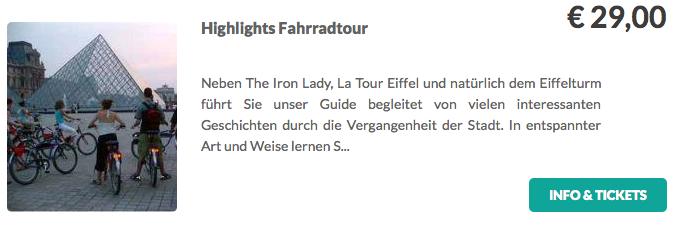 Highlights Fahrradtour