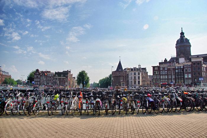 Amsterdam-Fahrräder