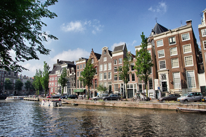 Amsterdam-Häuser