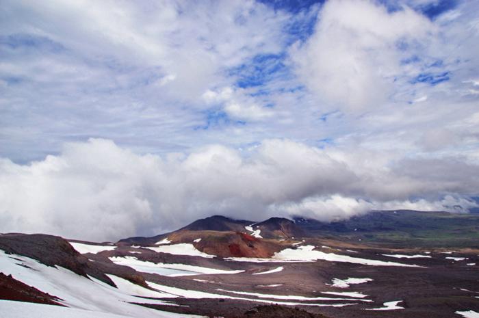 Aussicht-Gletscher Snæfellsjökull