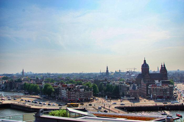 Aussicht-über-Amsterdam
