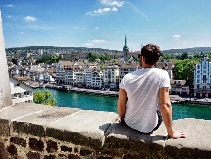 Aussicht-Zürich