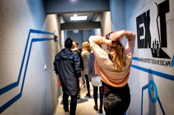 Exit-Game-Teilnehmer