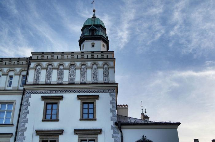 Gebäude in Krakow