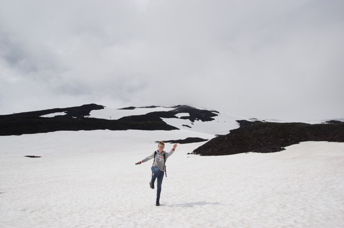 Gletscher Snæfellsjökull-Christine-Neder-Island