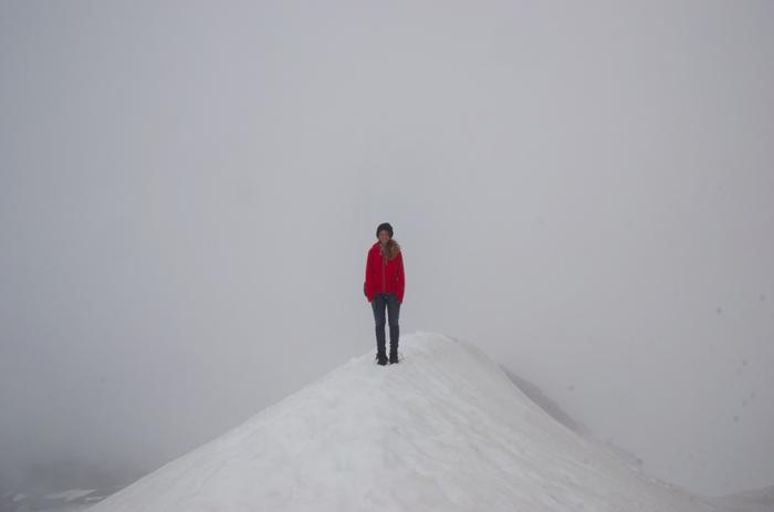 Gletscherspitze