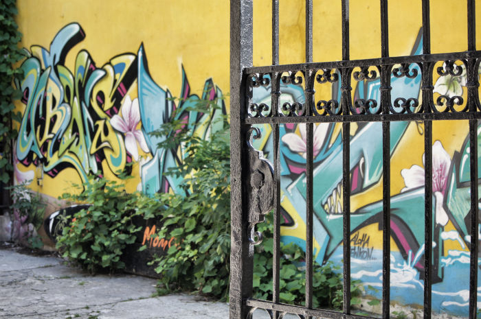 Grafitti in Krakow