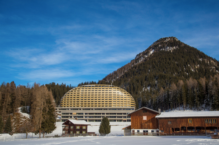 INTERCONTINENTAL DAVOS-Lage