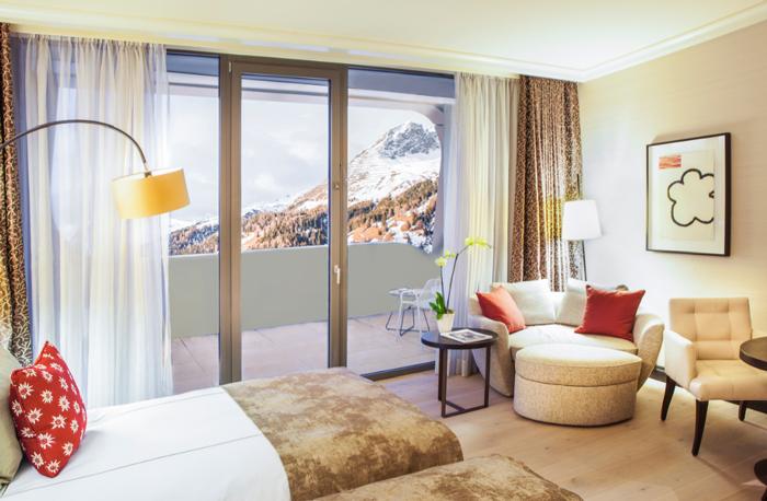 INTERCONTINENTAL DAVOS-Schweiz-Schlafzimmer