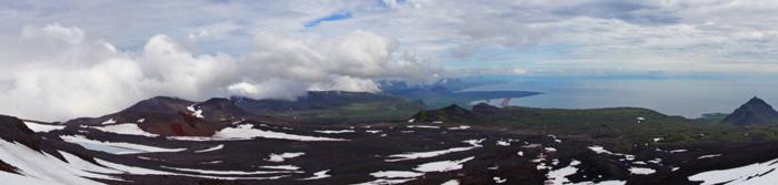 Landschaft-Gletscher Snæfellsjökull