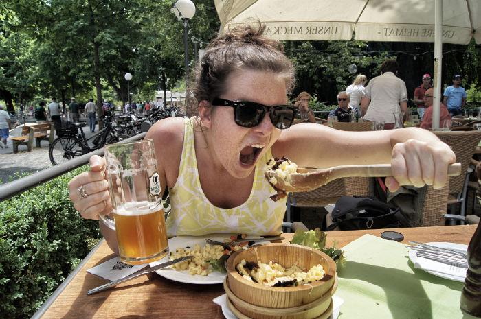 Lunch in Österreich