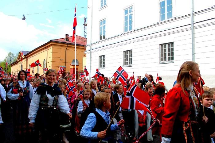 Norwegen-Feiertag