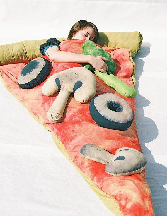 Pizzaschlafsack