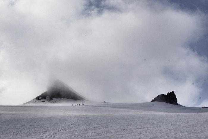 Wanderung-Gletscher