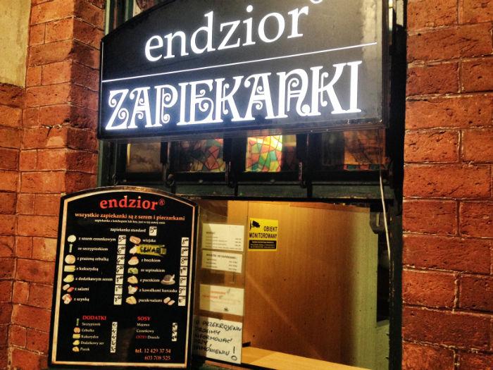 Zapiekanki Endzior Krakow