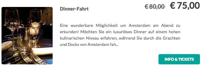 Amsterdam-Dinner-Fahrt