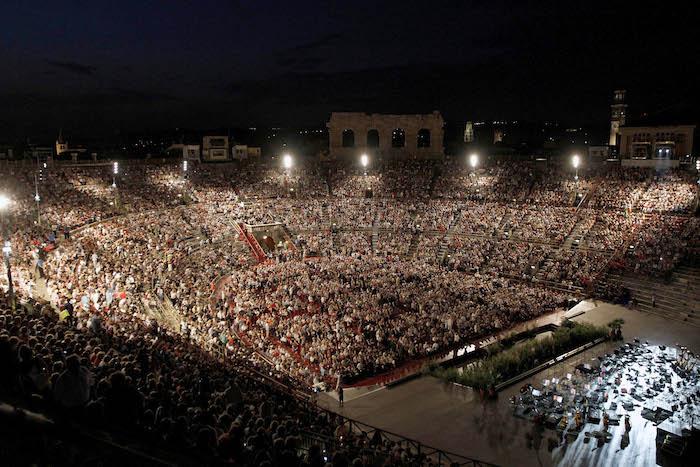 Arena di Verona - von Innen