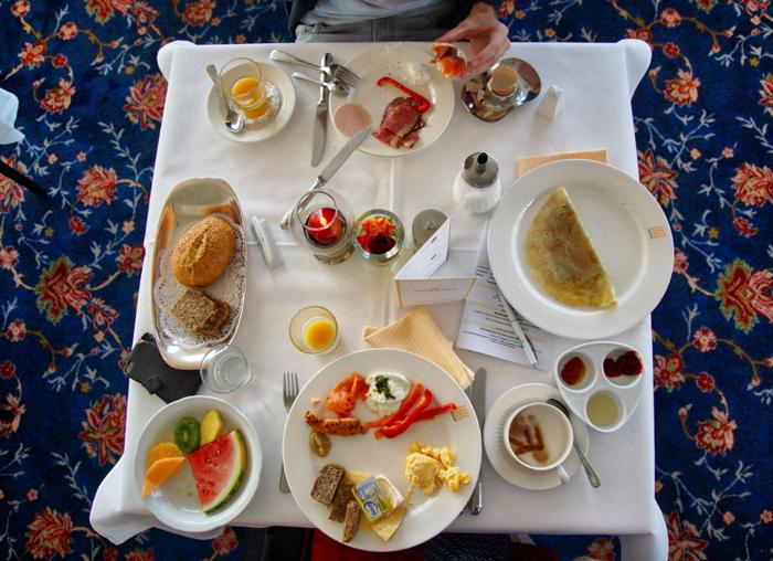 Frühstück-Achterdiek