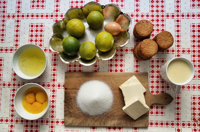 Zutaten-Key Limd Pie-Rezept