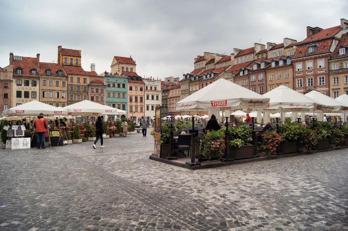 Altstadt Warschau Café