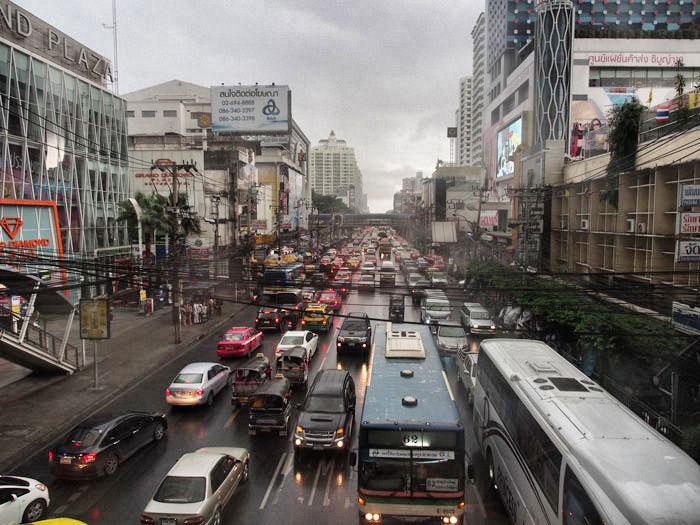bangkok-verkehrregen
